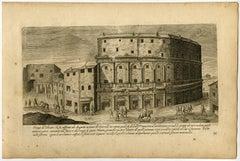 'Vestigii del Theatro che fu edificato da Augusto […].