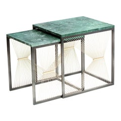 Aegis Set of 2 Nesting Tables by Ziad Alonaizy