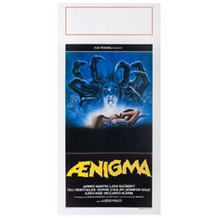 """""""Aenigma"""" 1988 Italian Locandina Film Poster"""