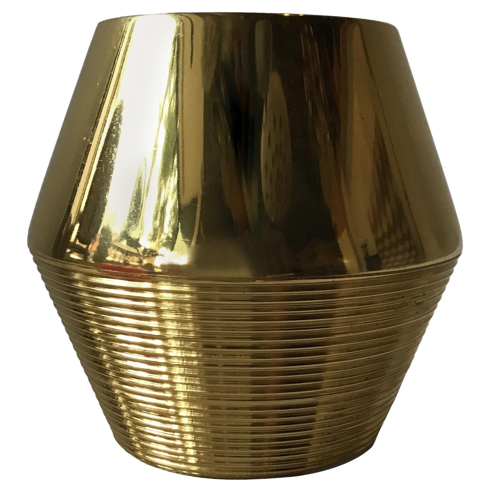 Aerin Brass Canister