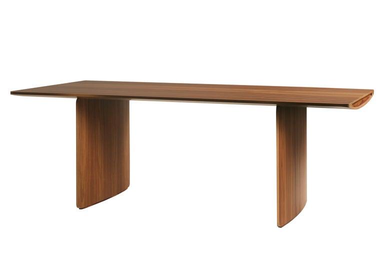 Aero, Contemporary Table or Desk in Maple Wood, Design Franco Poli In New Condition For Sale In Salizzole, IT
