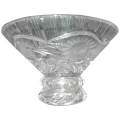Aesthetic Movement American Cut-Glass Bowl