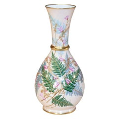 Aesthetic Movement Hand Painted Porcelain Vase