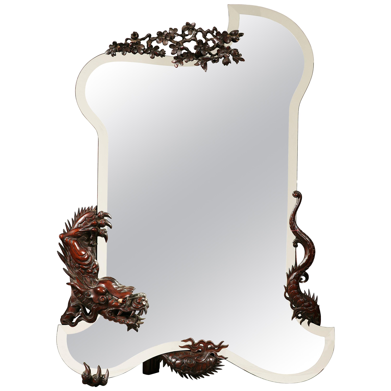 Aesthetic Movement Mirror G. Viardot
