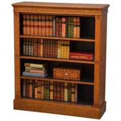 Aesthetic Movement Oak Open Bookcase