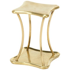 Aesthetic Style Brass Table