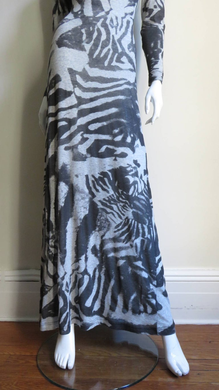 Aexander McQueen Backless Maxi Dress For Sale 1