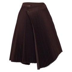 A.F. Vandevorst Pleated Wrap Origami Skirt 90s