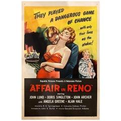 Affair in Reno '1957' Poster