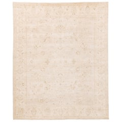 Afghan Transitional Rug with Natural Dyed Wool