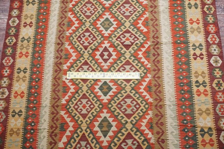 Afghan Tribal Chobi Kilim Rug For Sale 1