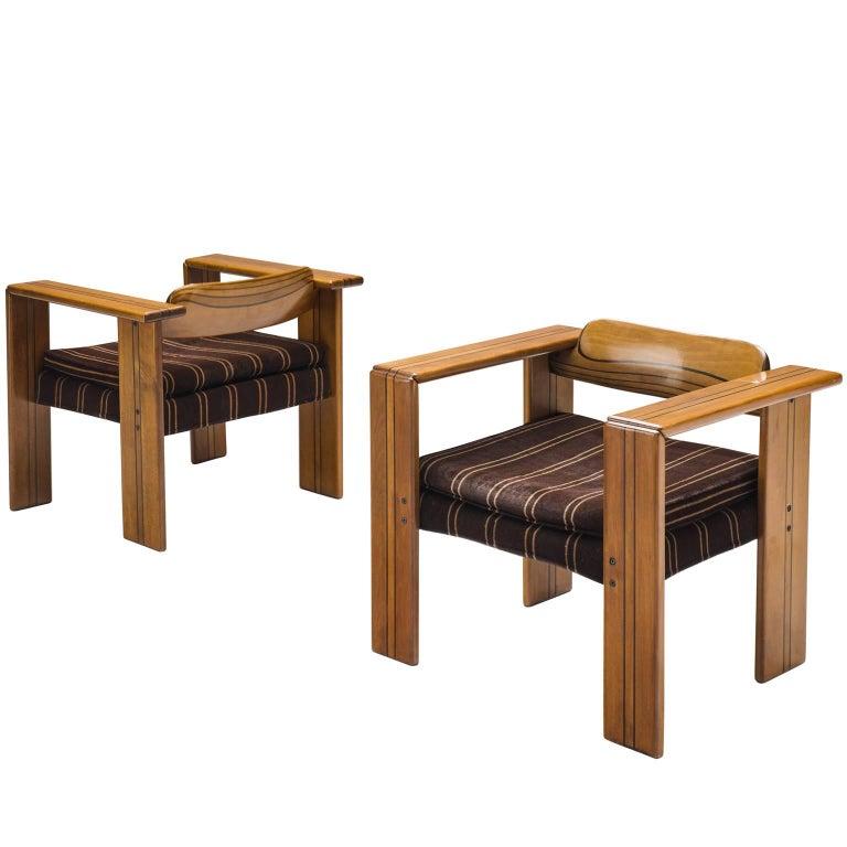 Afra & Tobia Scarpa 'Artona' Lounge Chairs, 1975