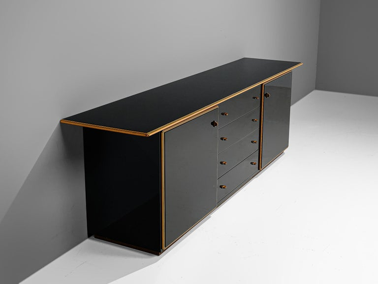 Afra and Tobia Scarpa 'Artona' Cabinet In Good Condition For Sale In Waalwijk, NL