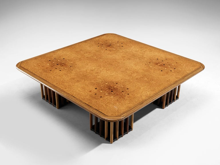 Mid-Century Modern Afra and Tobia Scarpa 'Artona' Coffee Table For Sale