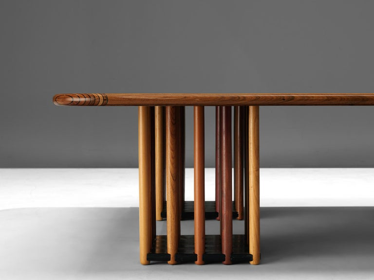 Late 20th Century Afra and Tobia Scarpa 'Artona' Coffee Table For Sale