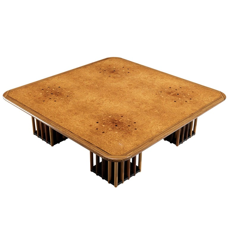 Afra and Tobia Scarpa 'Artona' Coffee Table For Sale