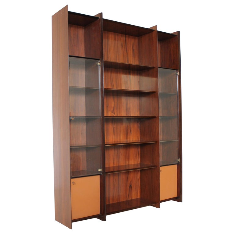 """Mid-Century Tobia Scarpa """"Artona"""" Rosewood Cabinet for Maxalto, Italy 1975 For Sale"""