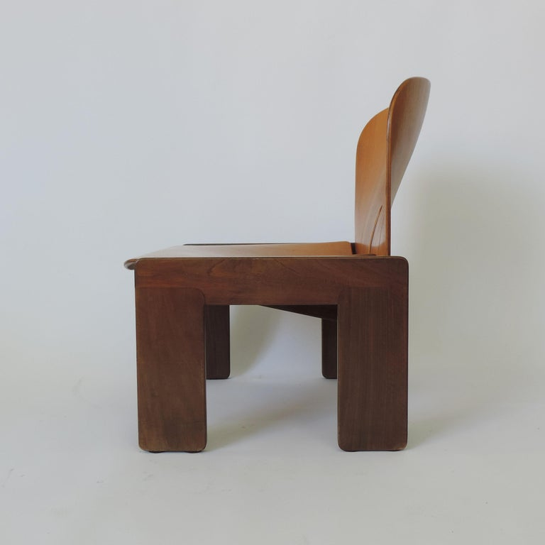 Afra & Tobia Scarpa Pair of 925 Easy Chairs for Cassina, Italy, 1966 For Sale 1
