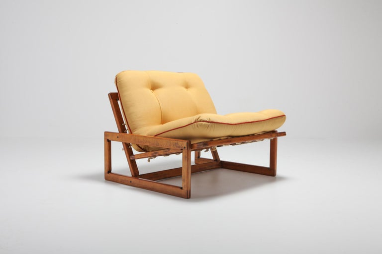 Afra and Tobia Scarpa Pair of 'Carlotta' Lounge Chairs for Cassina For Sale 3