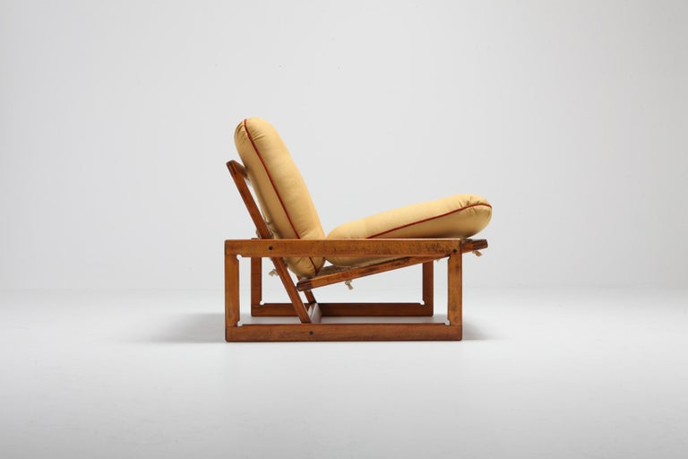 Afra and Tobia Scarpa Pair of 'Carlotta' Lounge Chairs for Cassina For Sale 4