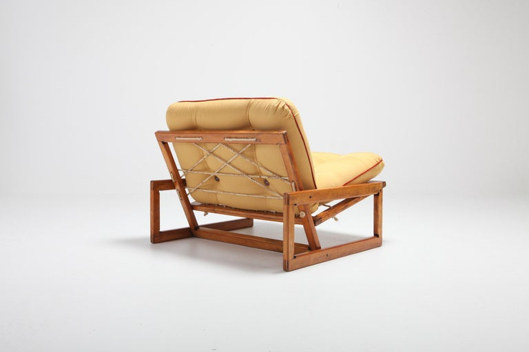 Afra and Tobia Scarpa Pair of 'Carlotta' Lounge Chairs for Cassina For Sale 5
