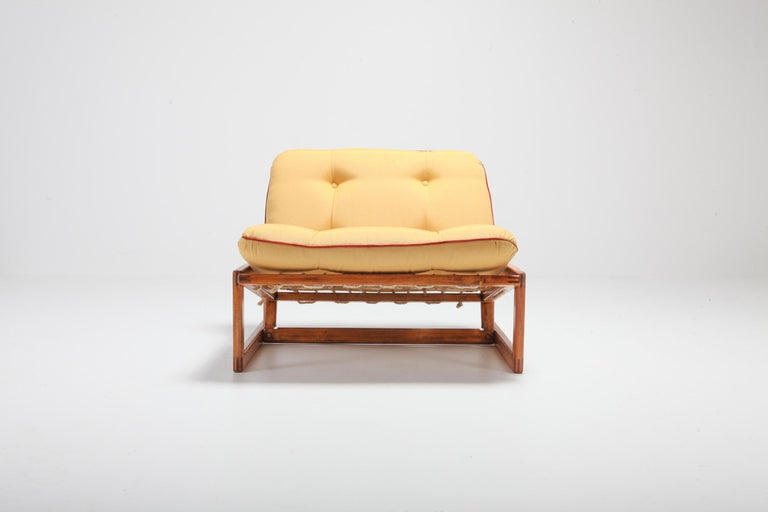Afra and Tobia Scarpa Pair of 'Carlotta' Lounge Chairs for Cassina For Sale 1