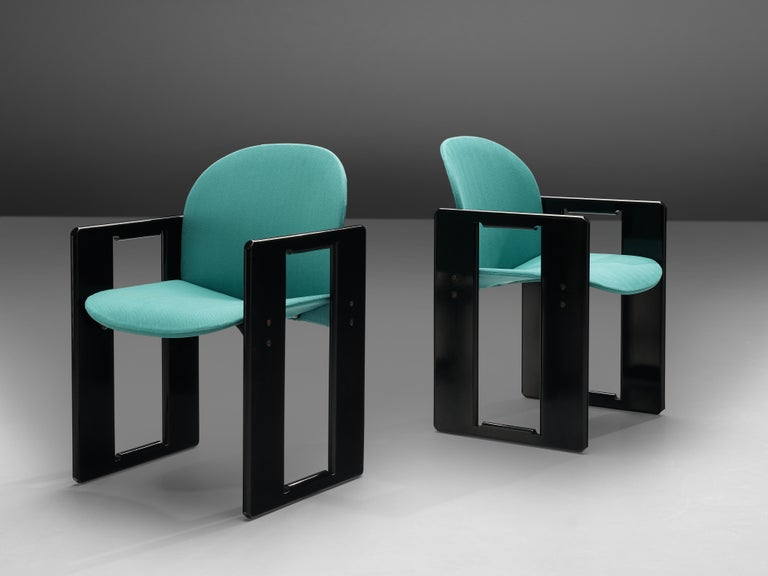 Italian Afra & Tobia Scarpa Pair of 'Dialogo' Dining Chairs For Sale