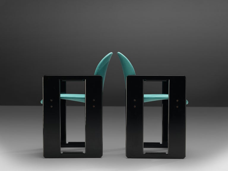 Afra & Tobia Scarpa Pair of 'Dialogo' Dining Chairs For Sale 1