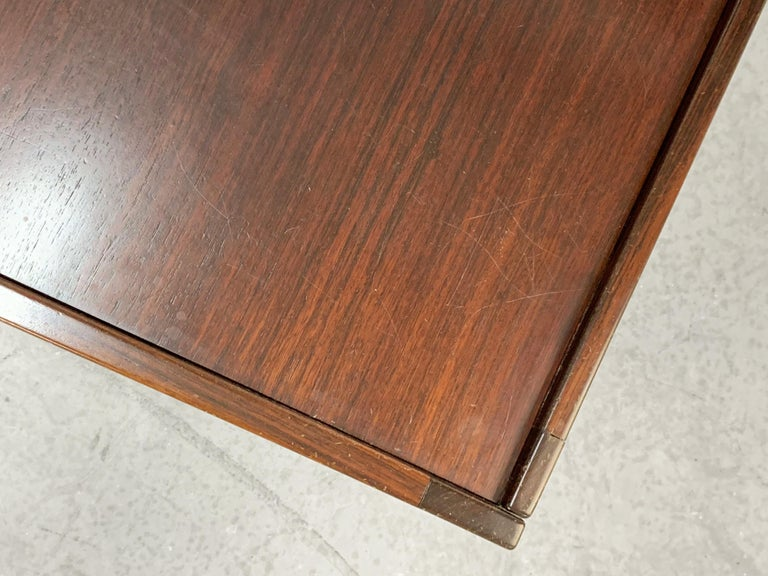 Afra and Tobia Scarpa, Square Table, for Cassina, Italy, 1970s For Sale 3