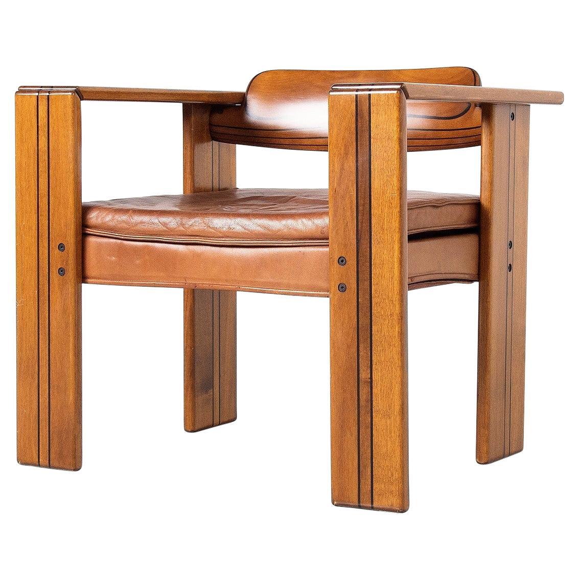 Afra e Tobia Scarpa Artona Arm Chair Maxalto Italy 1975