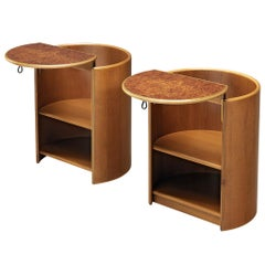 Afra e Tobia Scarpa for Maxalto Pair of Nightstands