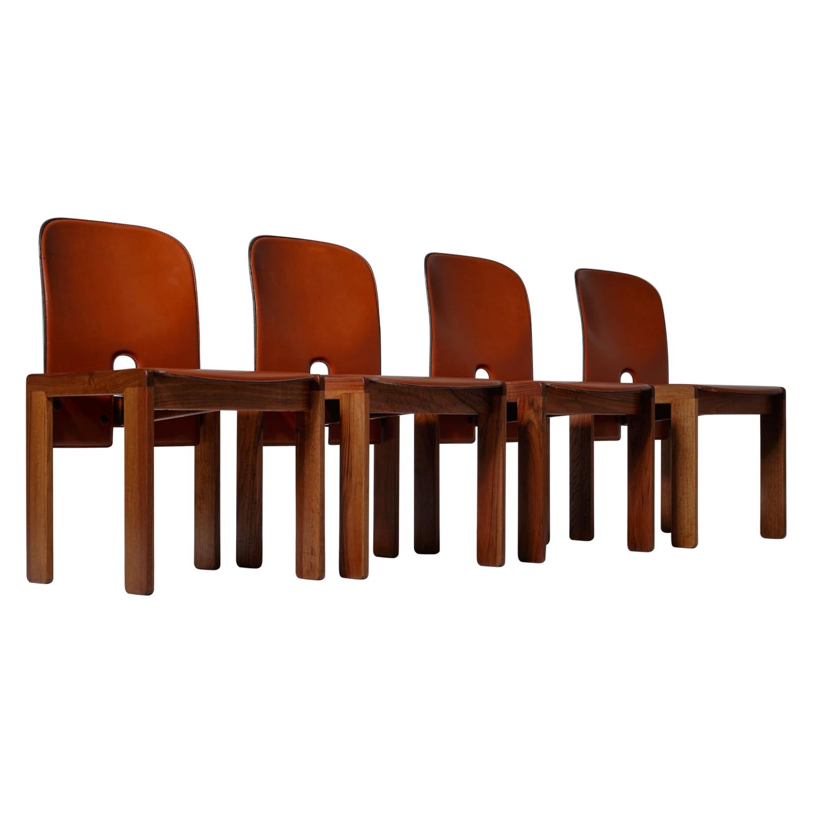 Afra & Tobia Scarpa '121' Dining Chairs, Set of 4