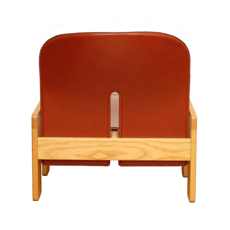 Afra & Tobia Scarpa, a Set of Four Lounge Chairs, Model 925, Cassina, 1960s In Good Condition For Sale In Paris, FR