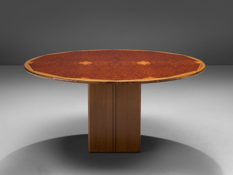 Mid-Century Modern Afra & Tobia Scarpa 'Africa' Dining Table For Sale