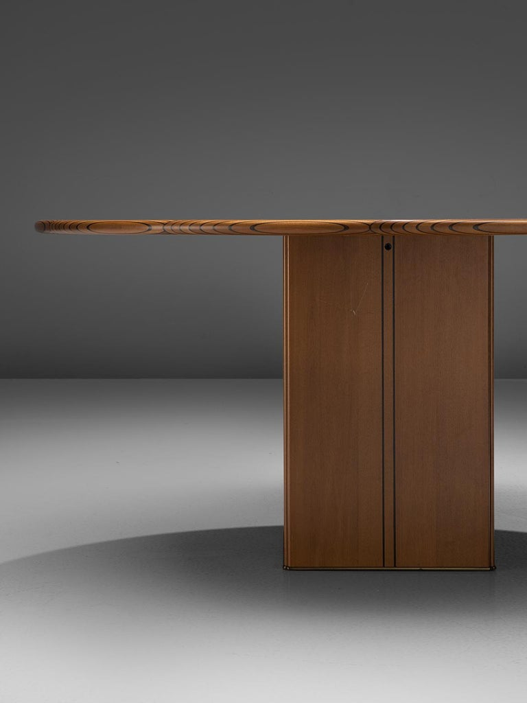 Italian Afra & Tobia Scarpa 'Africa' Dining Table For Sale