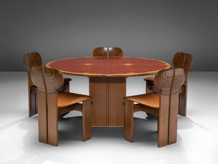 Afra & Tobia Scarpa 'Africa' Dining Table For Sale 1