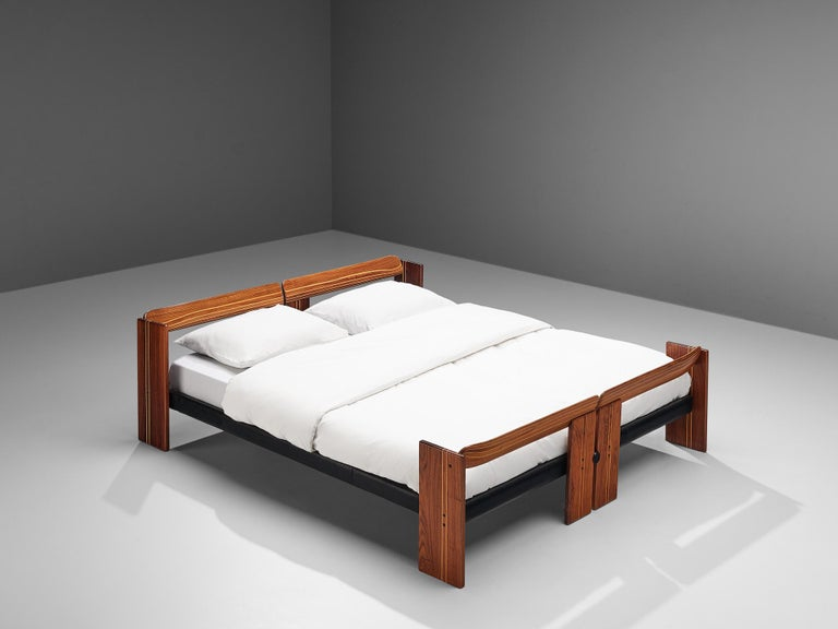 Afra & Tobia Scarpa 'Artona' Bed with Nightstands  For Sale 4