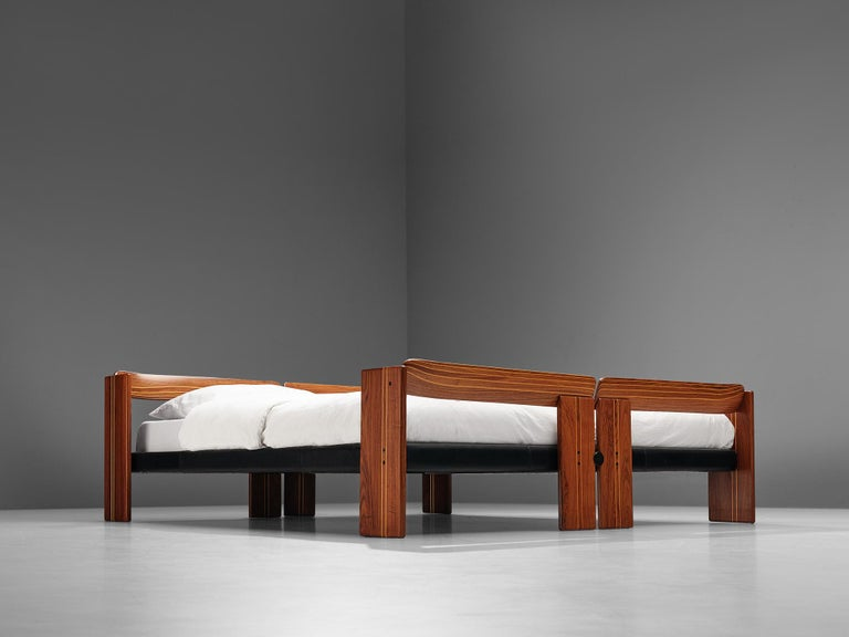 Afra & Tobia Scarpa 'Artona' Bed with Nightstands  For Sale 5
