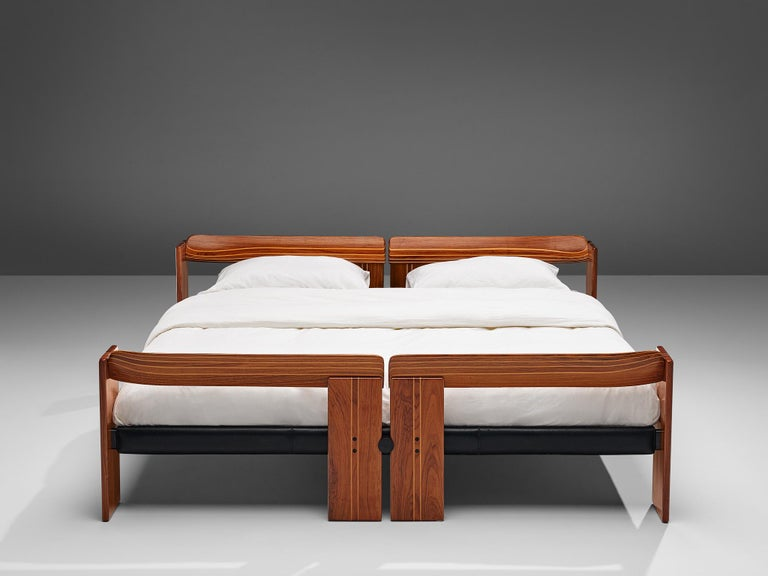 Afra & Tobia Scarpa 'Artona' Bed with Nightstands  For Sale 6