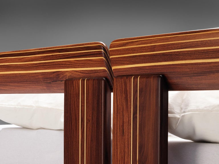 Afra & Tobia Scarpa 'Artona' Bed with Nightstands  For Sale 11