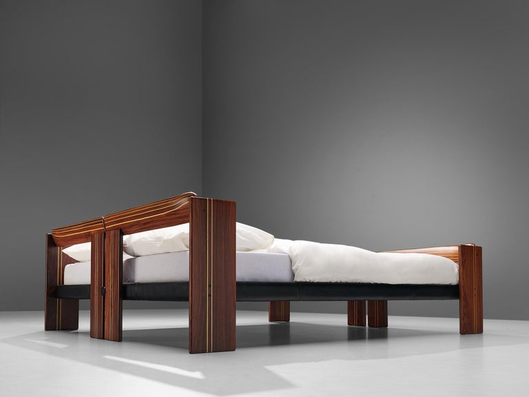Afra & Tobia Scarpa 'Artona' Bed with Nightstands  For Sale 12