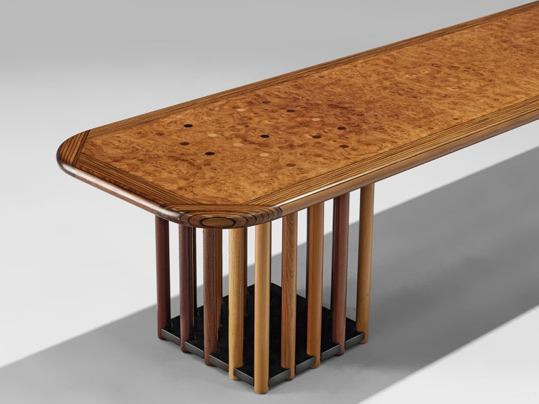 Beech Afra & Tobia Scarpa 'Artona' Coffee Table For Sale
