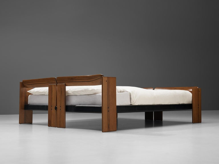 Afra & Tobia Scarpa 'Artona' Double Bed with Nightstands For Sale 3