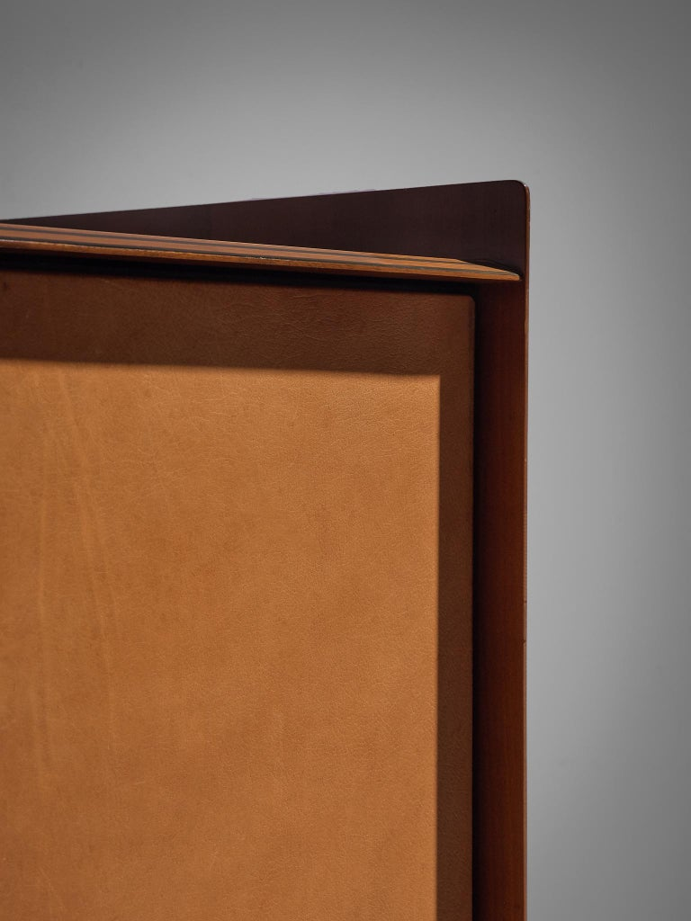 Afra & Tobia Scarpa 'Artona' Leather Cabinet In Good Condition For Sale In Waalwijk, NL