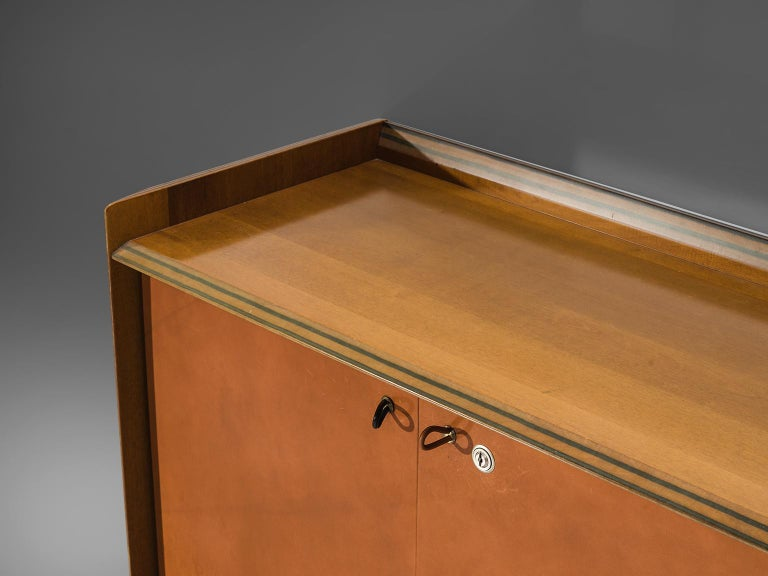 Afra & Tobia Scarpa 'Artona' Leather Cabinet For Sale 1
