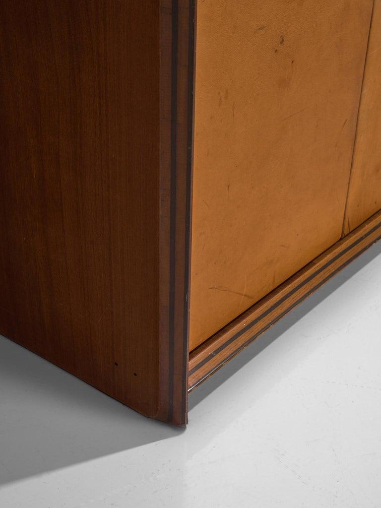 Afra & Tobia Scarpa 'Artona' Leather Cabinet For Sale 1