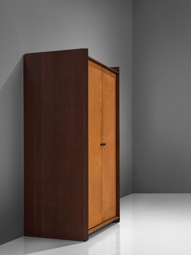 Afra & Tobia Scarpa 'Artona' Leather Cabinet For Sale 2