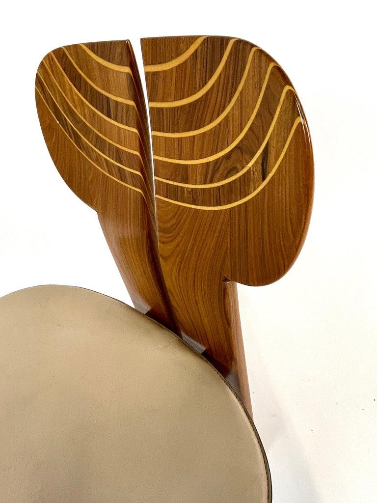Afra & Tobia Scarpa Artona Series 'Africa' Chairs Produced, Maxalto 4 Available For Sale 6
