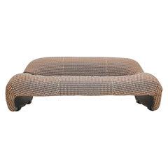 Afra & Tobia Scarpa 'Bonanza' Love Seat Sofa, C&B Italia, 1969 Customizable