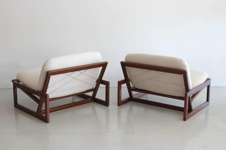 Italian Afra & Tobia Scarpa Carlotta Lounge Chairs For Sale